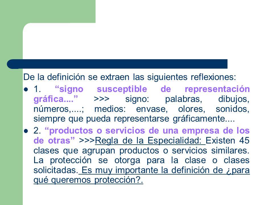 De la definición se extraen las siguientes reflexiones: