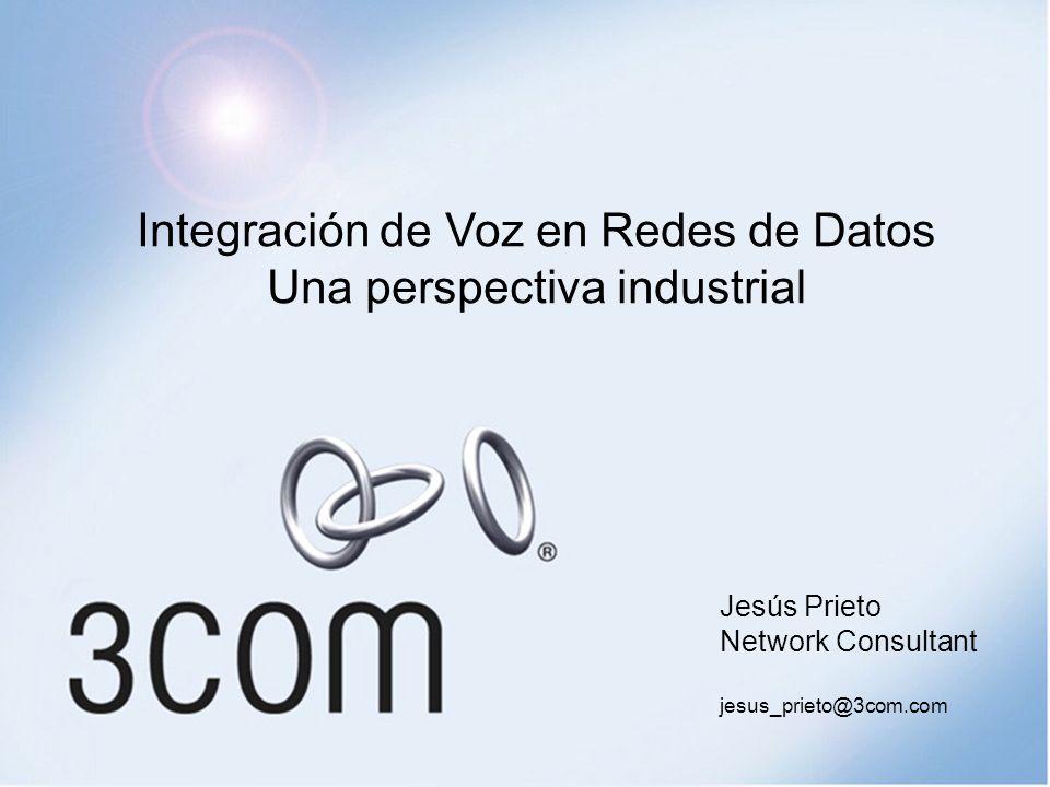 Integración de Voz en Redes de Datos Una perspectiva industrial