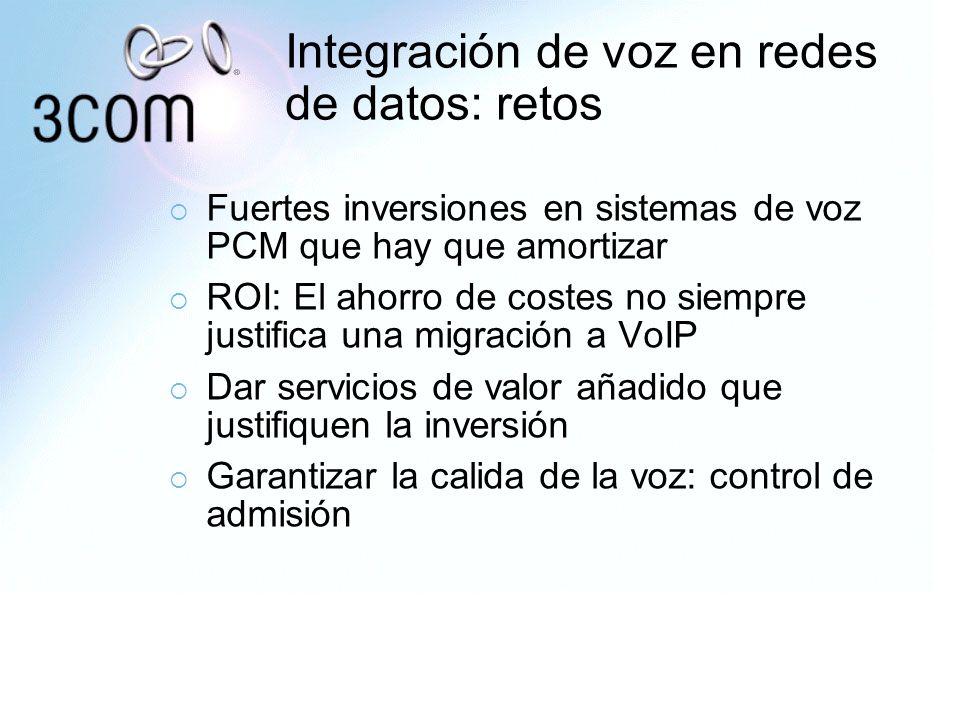 Integración de voz en redes de datos: retos