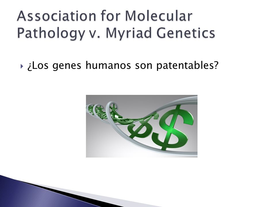 Association for Molecular Pathology v. Myriad Genetics