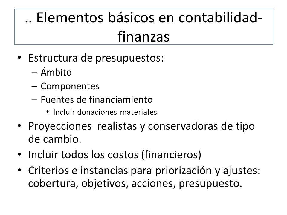 .. Elementos básicos en contabilidad-finanzas