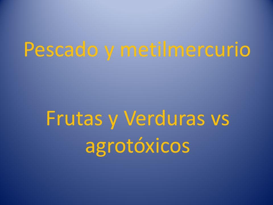Frutas y Verduras vs agrotóxicos