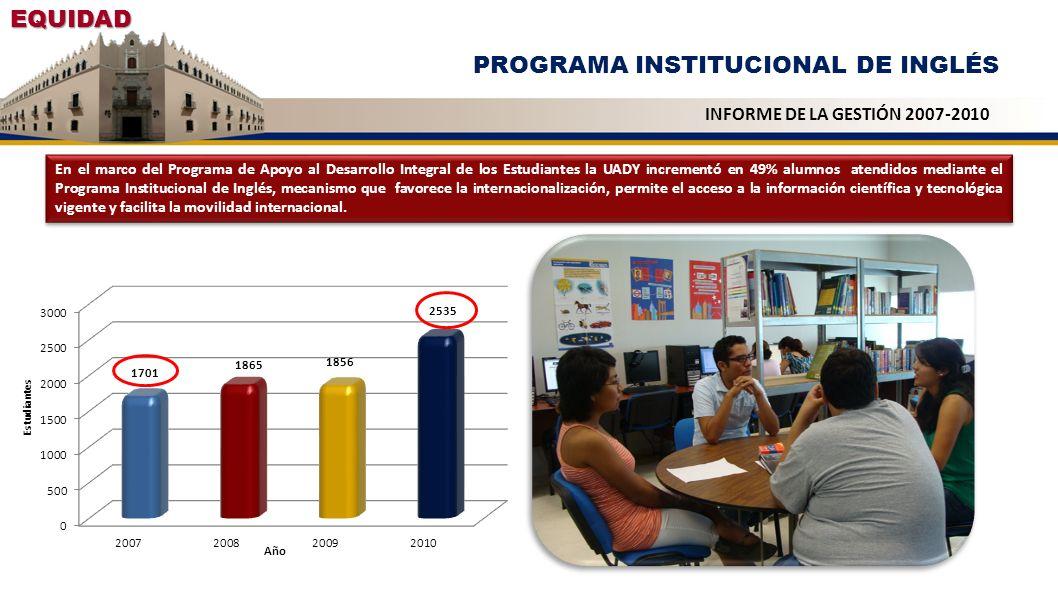 PROGRAMA INSTITUCIONAL DE INGLÉS