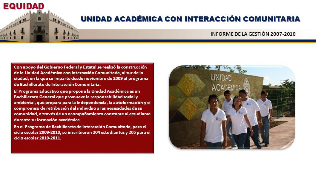UNIDAD ACADÉMICA CON INTERACCIÓN COMUNITARIA