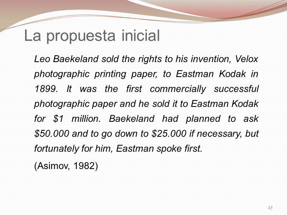 29/03/2017 La propuesta inicial.