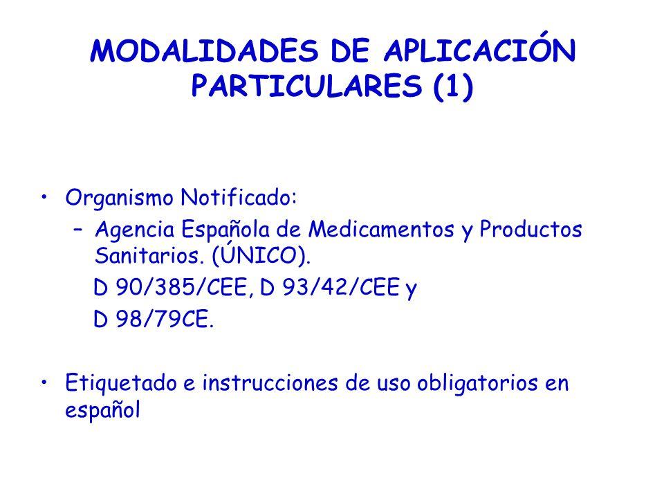 MODALIDADES DE APLICACIÓN PARTICULARES (1)