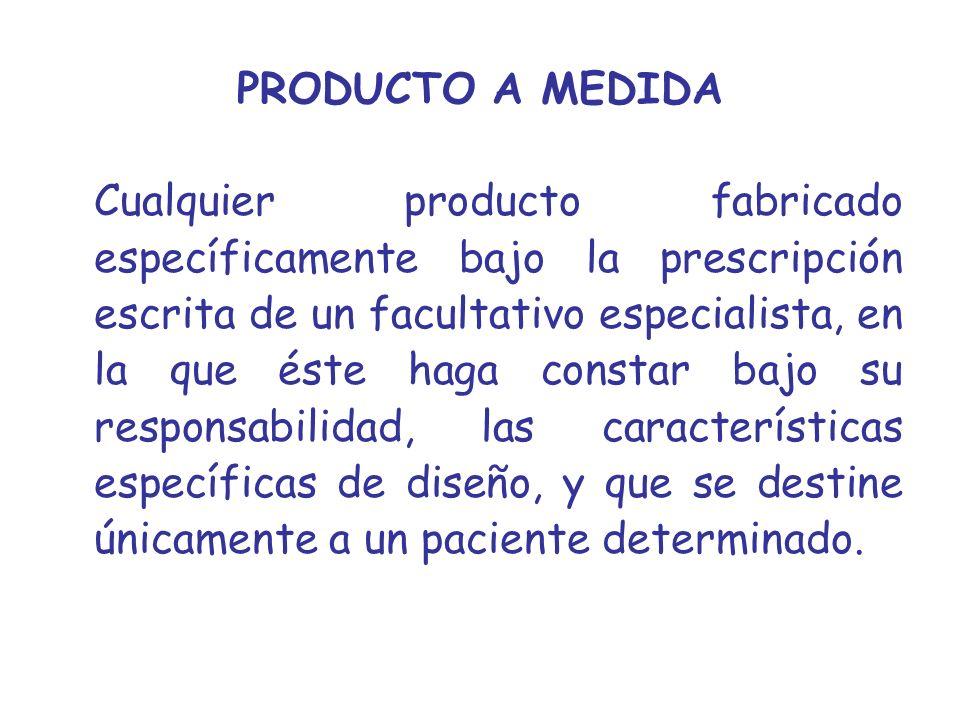 PRODUCTO A MEDIDA