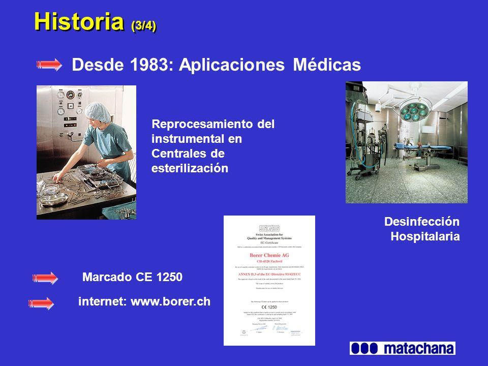 Historia (3/4) Desde 1983: Aplicaciones Médicas