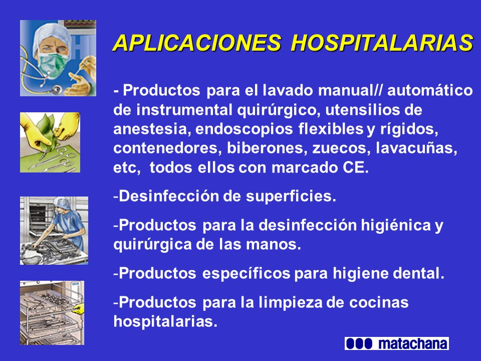 APLICACIONES HOSPITALARIAS