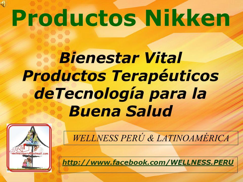 Productos Terapéuticos deTecnología para la Buena Salud