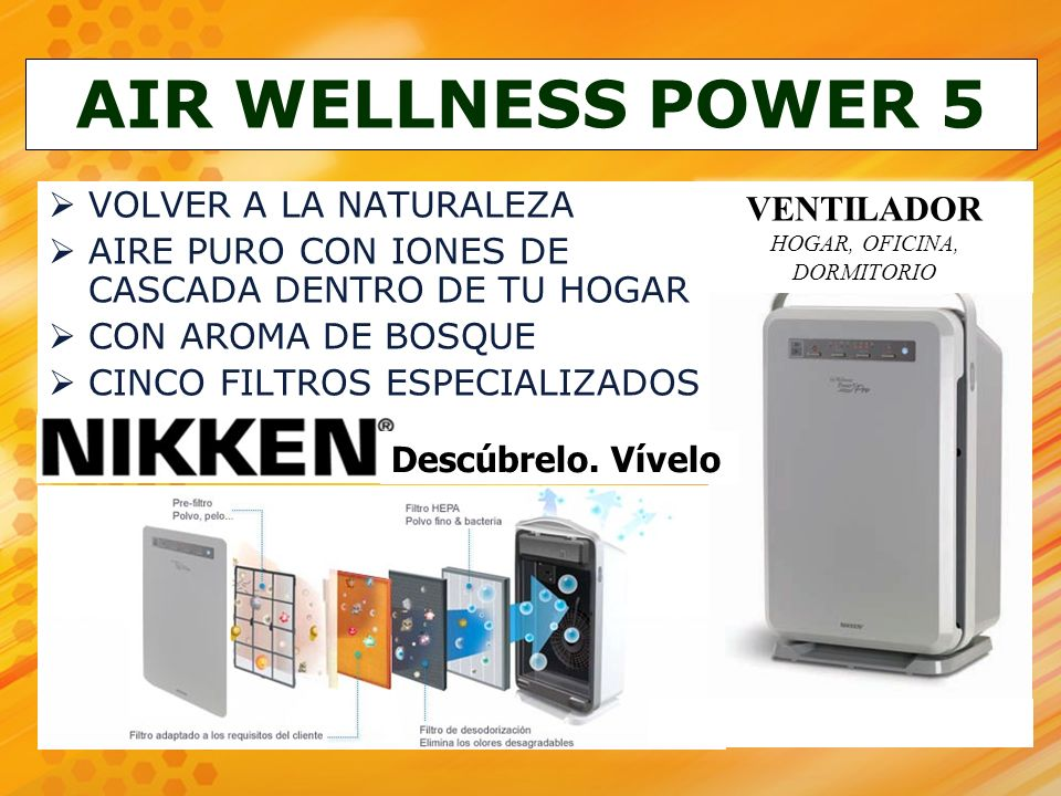AIR WELLNESS POWER 5 VOLVER A LA NATURALEZA