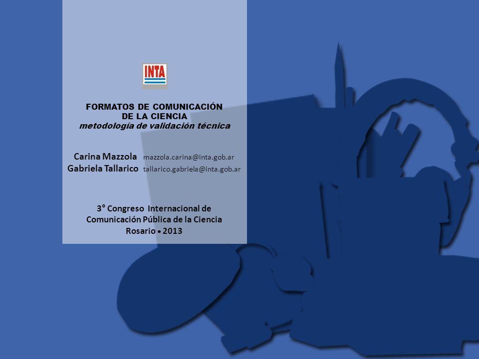 3° Congreso Internacional de Comunicación Pública de la Ciencia