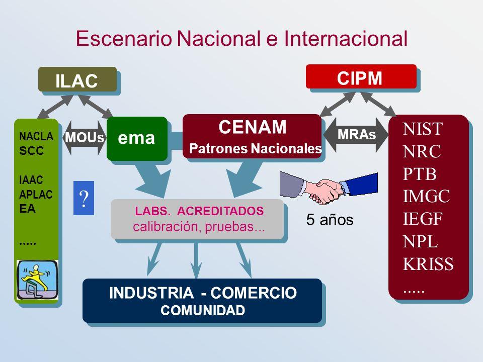 Escenario Nacional e Internacional