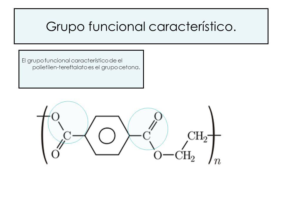 Grupo funcional característico.
