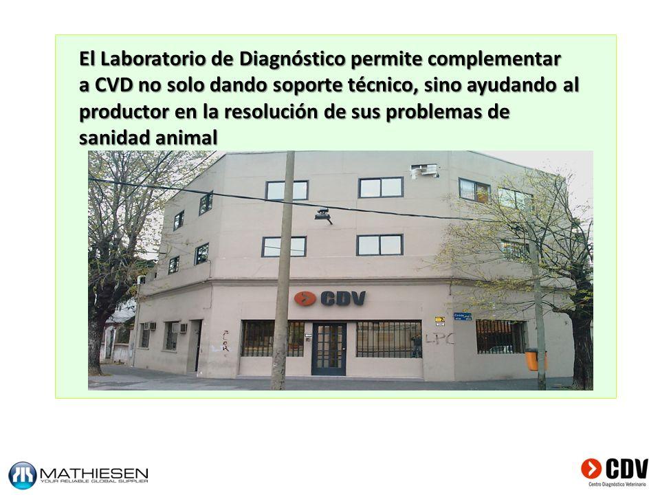 El Laboratorio de Diagnóstico permite complementar
