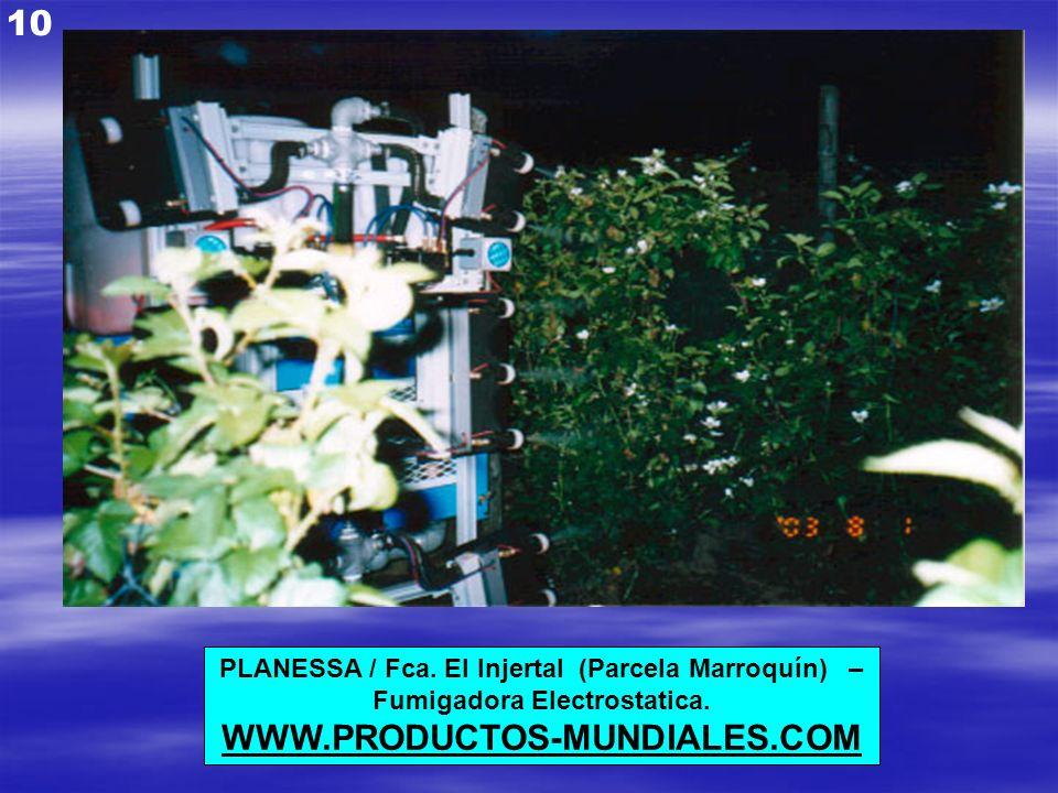 10 WWW.PRODUCTOS-MUNDIALES.COM