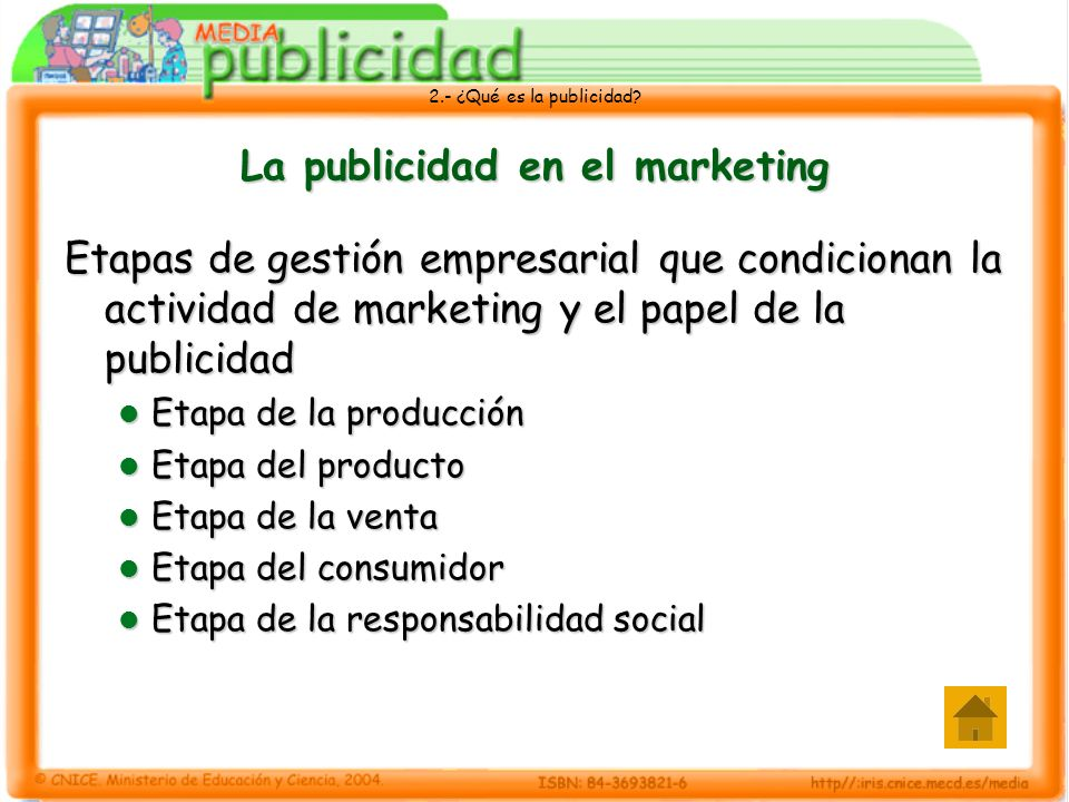La publicidad en el marketing