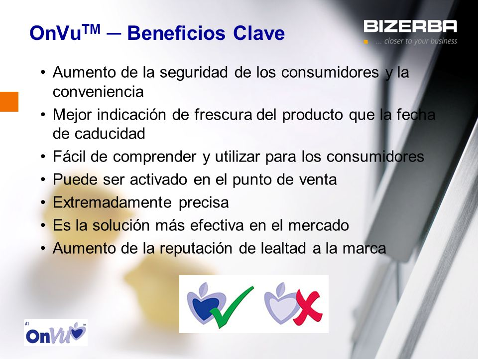 OnVuTM ─ Beneficios Clave