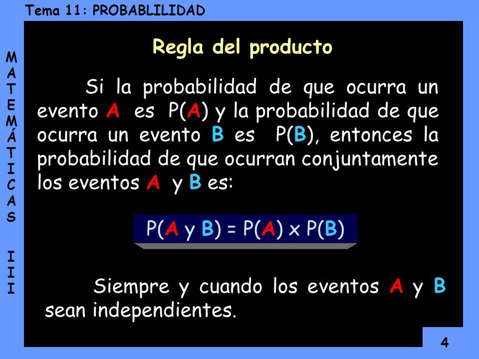 Regla del producto