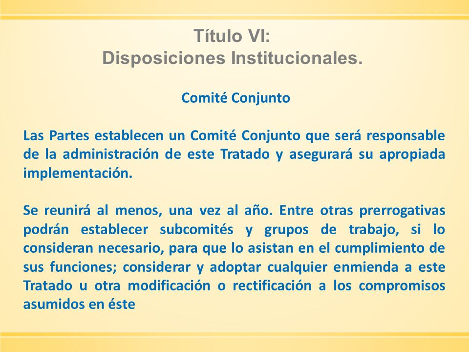 Disposiciones Institucionales.