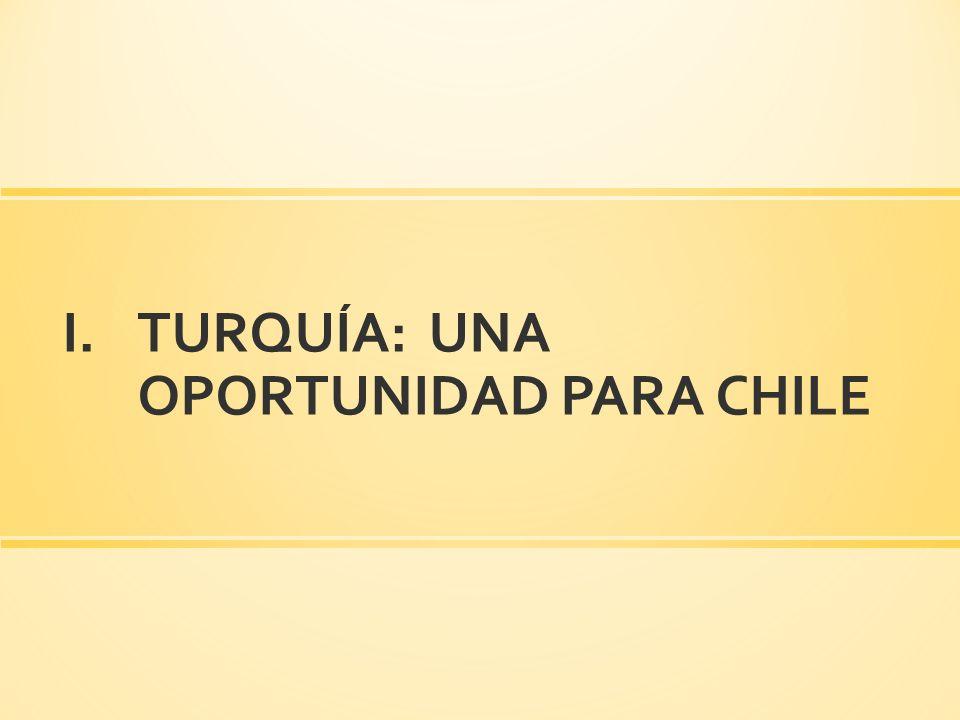 TURQUÍA: UNA OPORTUNIDAD PARA CHILE