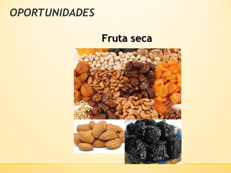 OPORTUNIDADES Fruta seca