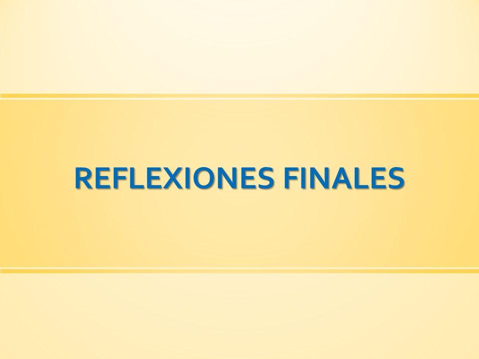 REFLEXIONES FINALES 49