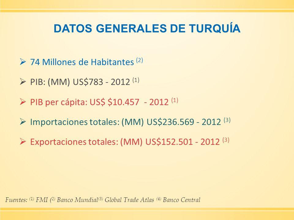 DATOS GENERALES DE TURQUÍA