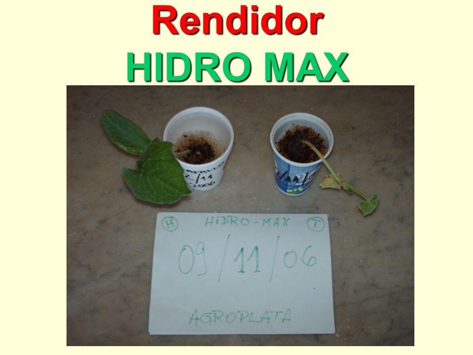 Rendidor HIDRO MAX