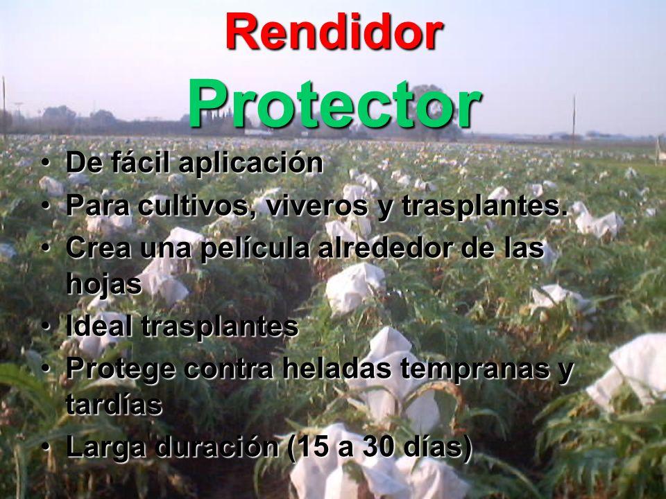 Rendidor Protector De fácil aplicación