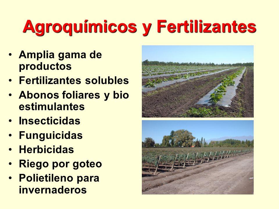Agroquímicos y Fertilizantes