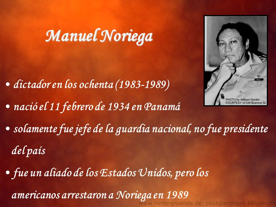 Manuel Noriega dictador en los ochenta (1983-1989)