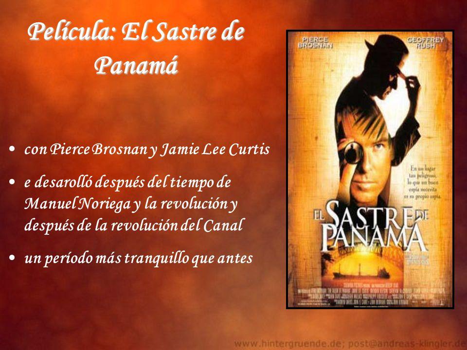 Película: El Sastre de Panamá