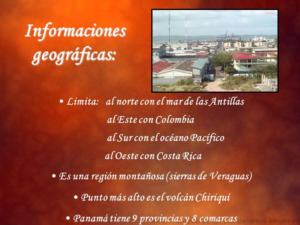 Informaciones geográficas:
