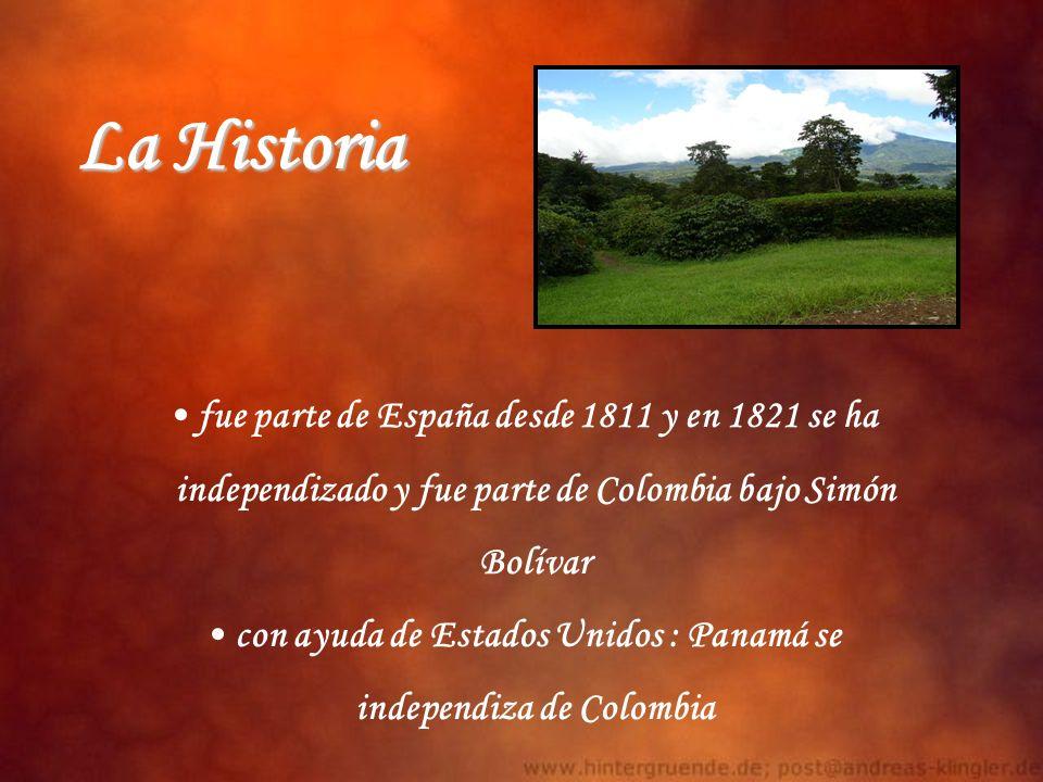 La Historia fue parte de España desde 1811 y en 1821 se ha
