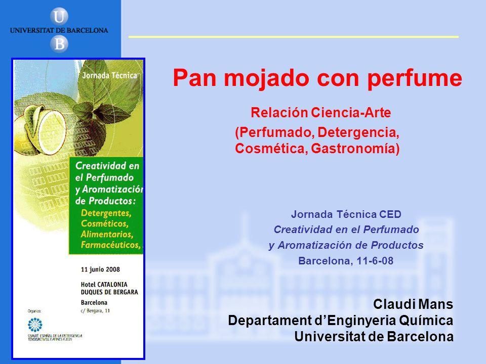 Creatividad en el Perfumado y Aromatización de Productos