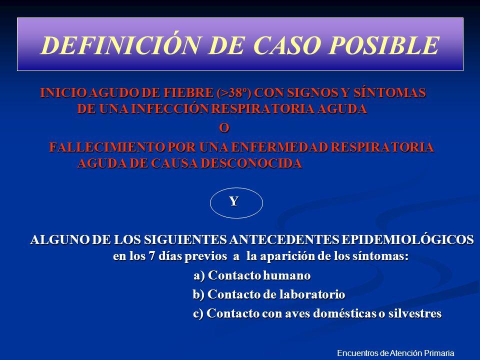 DEFINICIÓN DE CASO POSIBLE