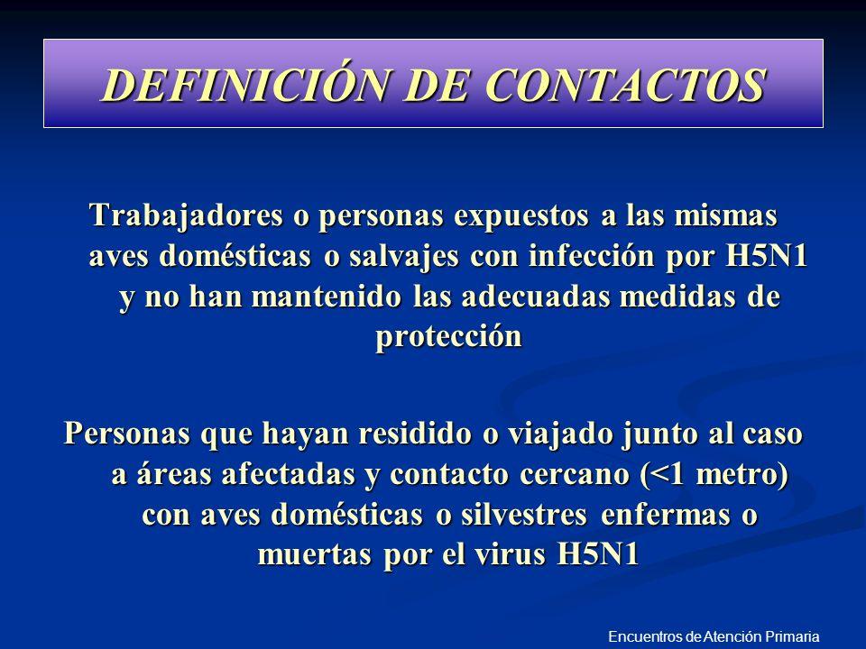DEFINICIÓN DE CONTACTOS