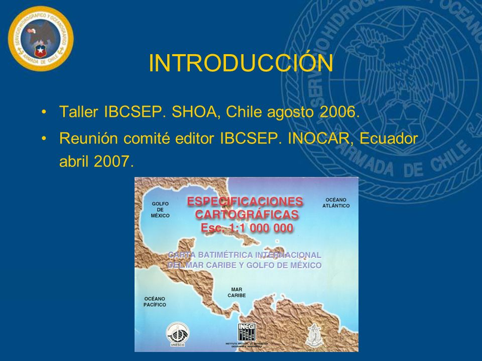 INTRODUCCIÓN Taller IBCSEP. SHOA, Chile agosto 2006.