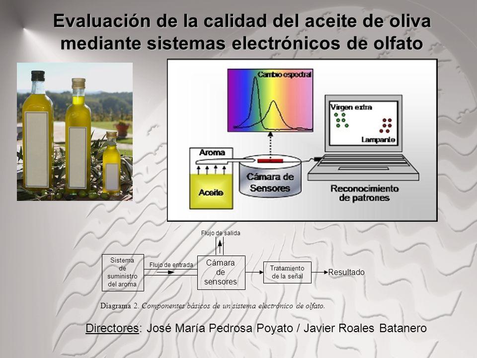 Evaluación de la calidad del aceite de oliva mediante sistemas electrónicos de olfato