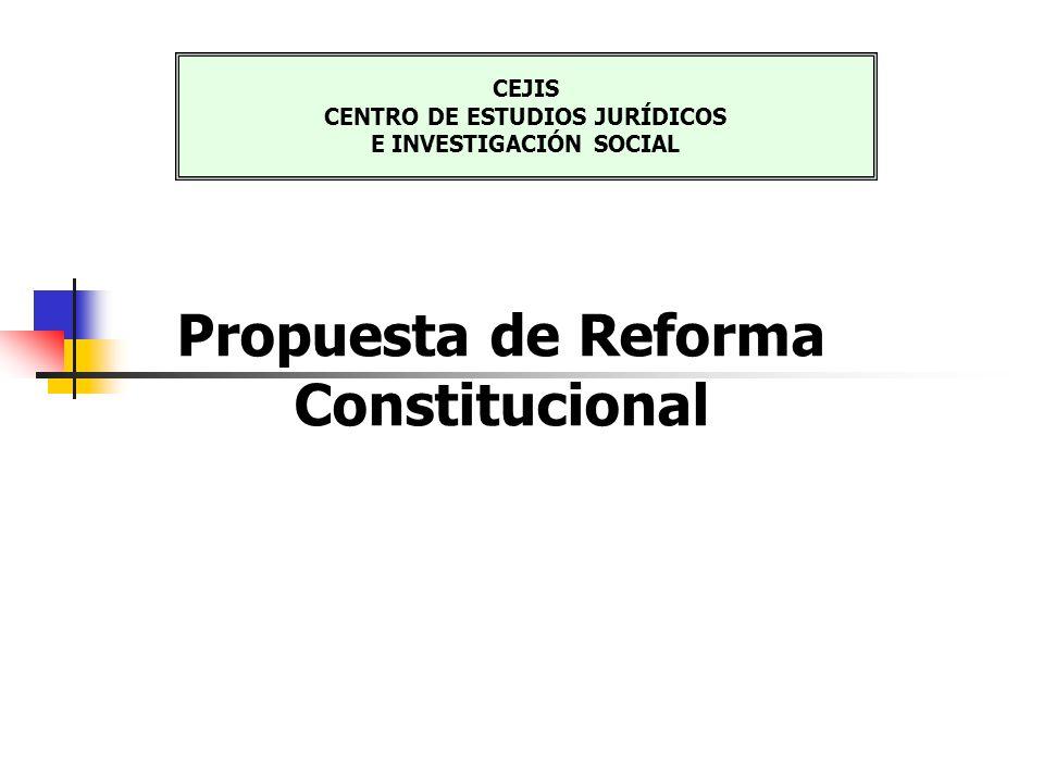 CEJIS CENTRO DE ESTUDIOS JURÍDICOS E INVESTIGACIÓN SOCIAL