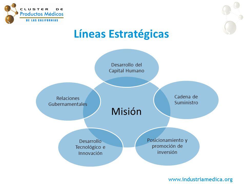 Líneas Estratégicas Misión Desarrollo del Capital Humano