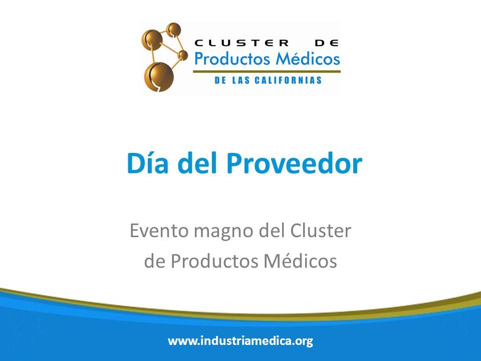 Evento magno del Cluster de Productos Médicos