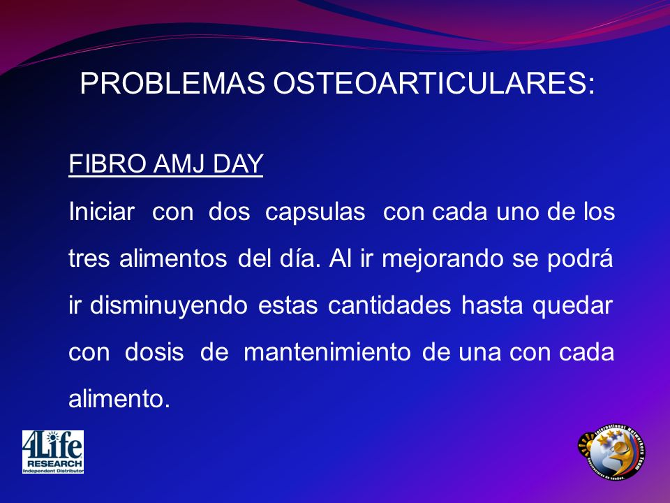 PROBLEMAS OSTEOARTICULARES: