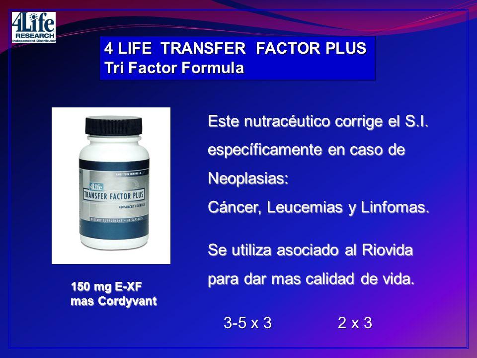 4 LIFE TRANSFER FACTOR PLUS Tri Factor Formula