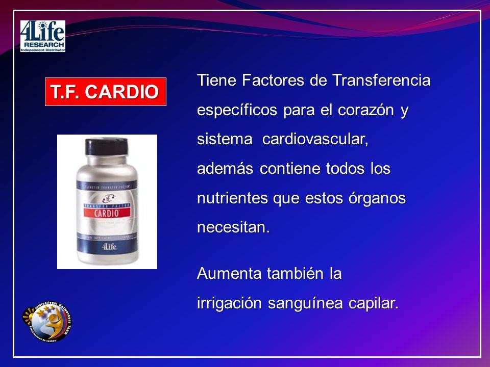 T.F. CARDIO Tiene Factores de Transferencia