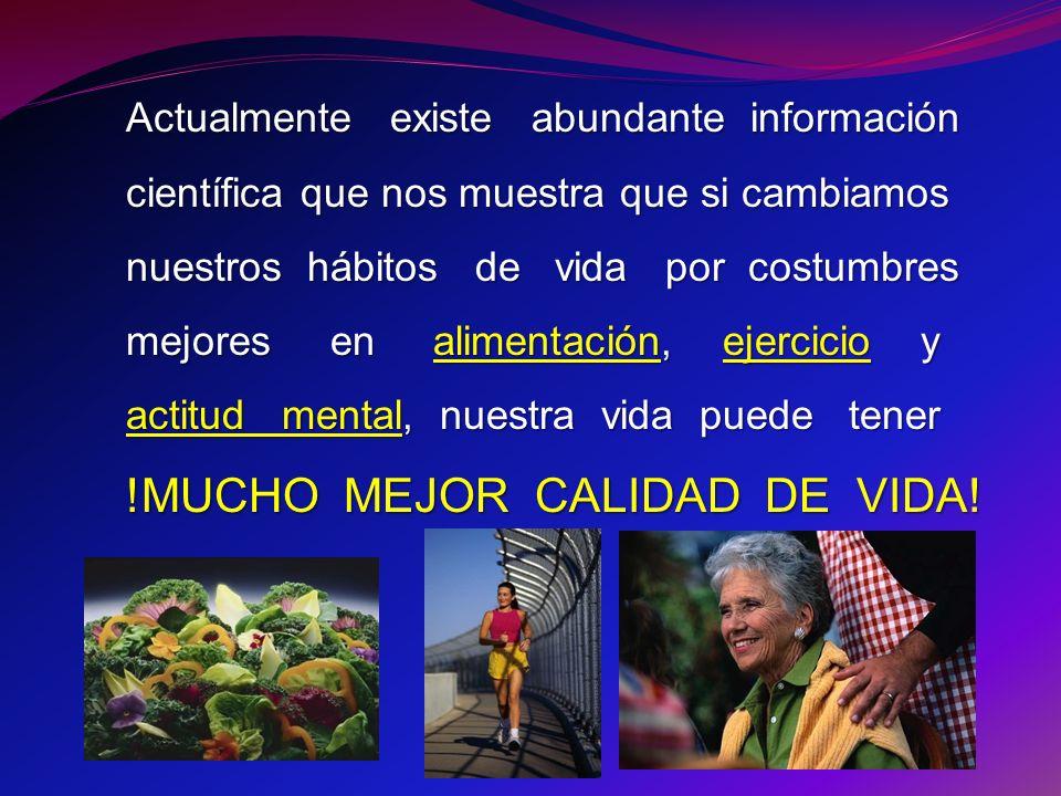 !MUCHO MEJOR CALIDAD DE VIDA!