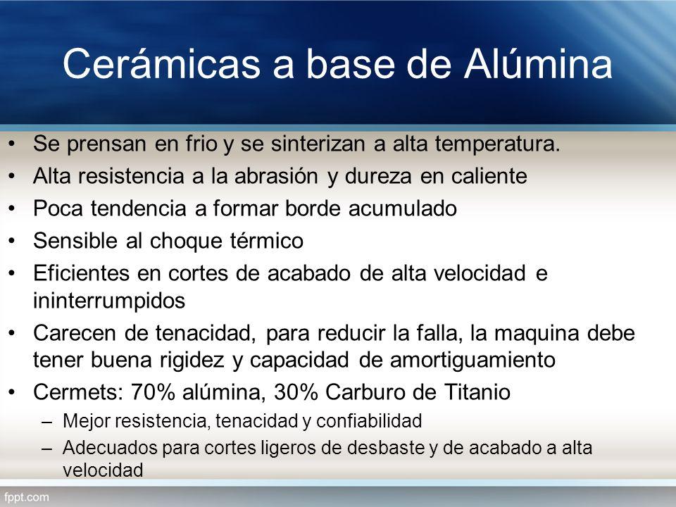 Cerámicas a base de Alúmina
