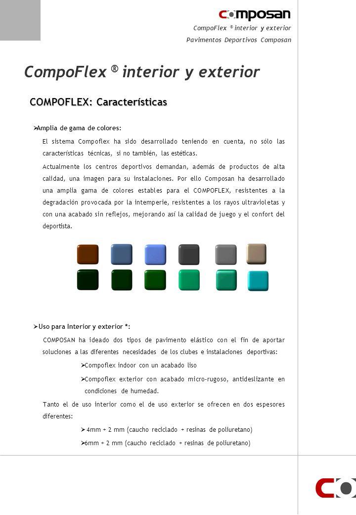 CompoFlex ® interior y exterior