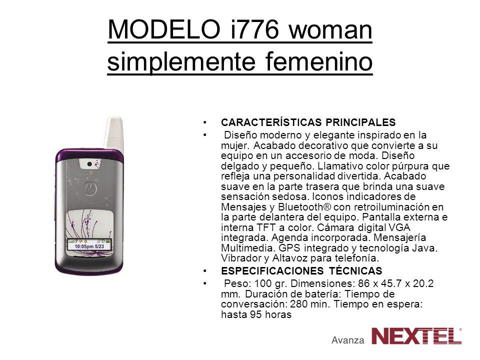 MODELO i776 woman simplemente femenino